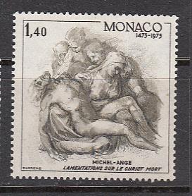 Monaco Sc# 1002  1975 Michelangelo MNH