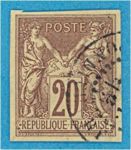 FRENCH COLONIES 34 USED - NO FAULTS VERY FINE !