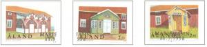 Aland Sc  149-151 1998 House Foyers stamp set  used