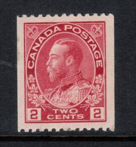 Canada #132iii Extra Fine Mint Original Gum Hinged