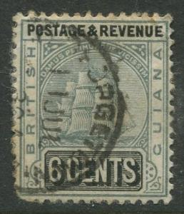 STAMP STATION PERTH British Guiana #164 - Seal Definitive Used Wmk 3 CV$55.00