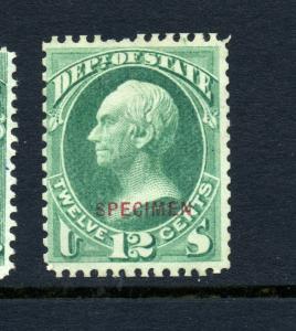 Scott #O63S State Dept. Special Printing Specimen Official Stamp (Stock #O63-19)