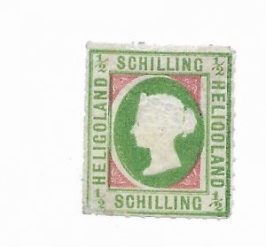 Heligoland #1 MH Likely Reprint - Stamp - CAT VALUE $150.00