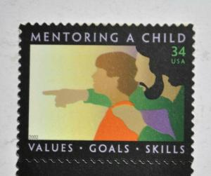 US stamps 34 cents Mentoring a child