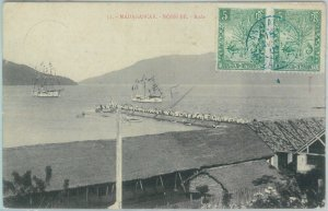 81179 - MADAGASCAR - POSTAL HISTORY: POSTCARD from NOSSI BE postmarked ANANALAVA