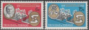 Trinidad & Tobago #160-61  MNH F-VF  (ST2608)