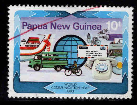 PNG Papua New Guinea Scott 584 Used stamp