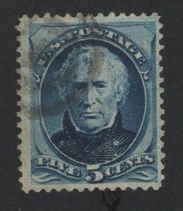 United States USED Scott Number 185 VF   - BARNEYS