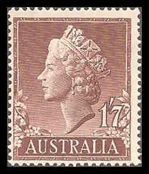 Australia  301 Mint F-VF NH