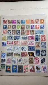 Collection of DENMARK Stamps on 5 Album Pages. 25p per page.