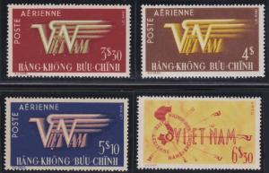 Vietnam C1-C4 MNH (1952-1953)