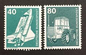 Germany  1975-82 #1174,1178, Definitive's, MNH.