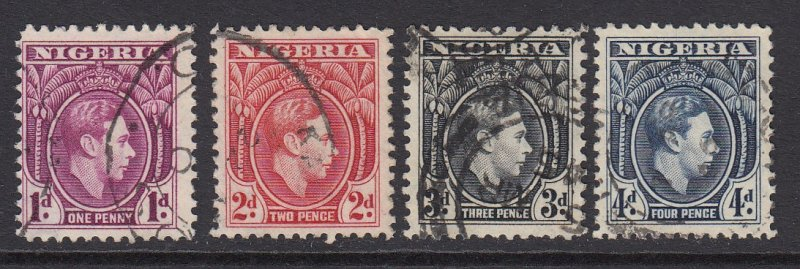 Nigeria, Sc 65-68 (SG 50b/54a), used