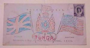 TONGA #76 NUKUALOFA 1942