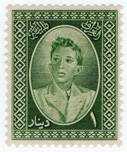 (I.B) Iraq Revenue : Duty Stamp 1D (King Faisal II)