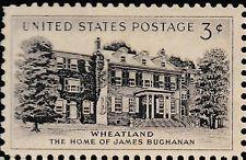 SCOTT# 1081 MINT WHEATLAND HOME NEVER HINGED POST OFFICE FRESH