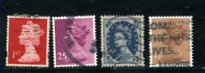 Great Britain MH85,MH214,MH288 +1   used  PD