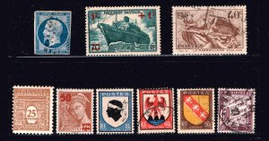 SPAIN STAMP MINT AND USED STAMP COLLECTION LOT #M1