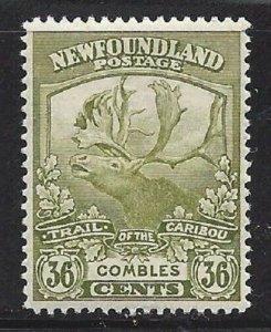 Newfoundland #126 OG VF