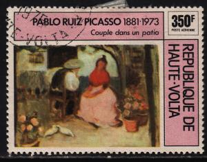 Burkina Faso C221 Picasso Paintings 1975