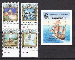 Bahamas Scott 725-729 Mint NH (Catalog Value $27.75)