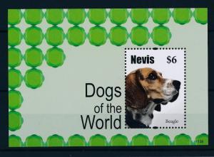 [35308] Nevis 2011 Animals Dogs Beagle MNH Sheet