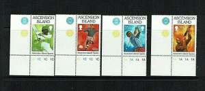 Ascension Island: 1998, Sporting Activities, MNH set