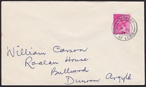 GB SCOTLAND 1971 cover BERNERA / ISLE OF LEWIS cds..........................7421