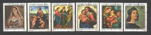 Vietnam. 1983. 1327.29-33. Painting pictures. USED.
