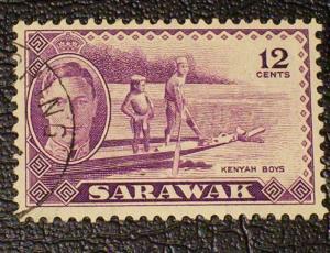 Sarawak Scott #187 used