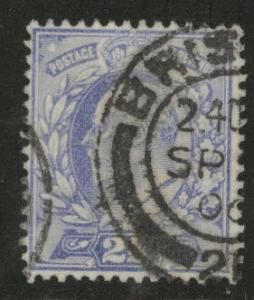 Great Britain Scott 131 KEVII 1902 2.5p stamp CV $11.50