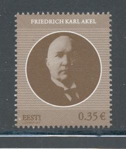 Estonia Sc 681 2011 Akel State Elder stamp mint NH