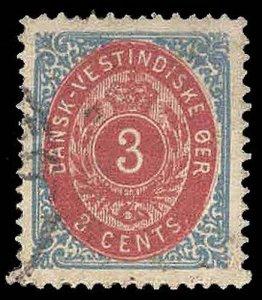 DANISH WEST INDIES 6e  Used (ID # 92297)