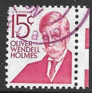 USA 1288: 15c Oliver Wendell Holmes, used, VF