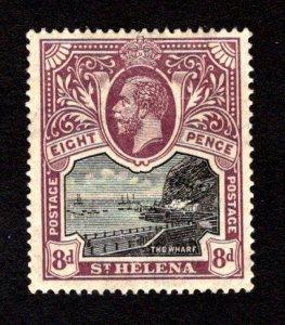 ST. HELENA  SC# 67  VF/MOG