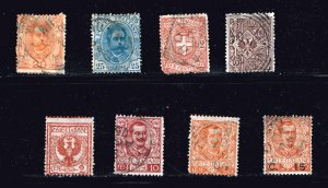 ITALY STAMP USED STAMPS COLLECTION LOT  #2