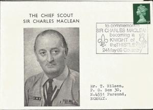 J) 1969 GREAT BRITAIN, QUEEN ELIZABETH II, TO COMMEMORATE SIR CHARLES MACLEAN BE