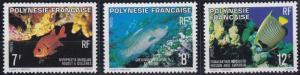 French Polynesia 327-329 MNH (1980)