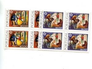 Portugal Europa  1979  Mint  VF NH block 4  - Lakeshore Philatelics