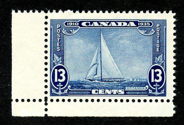Canada Scott 216 MNH Margin Single
