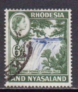 Rhodesia & Nyasaland  #164  used  (1959)