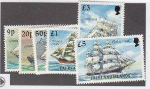 FALKLAND ISLANDS (MK5657AB) # 493,495-500,486-87a,493a,498a VF-MNH  SHIPS CV $73
