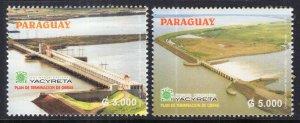 Paraguay 2793-2794 MNH VF