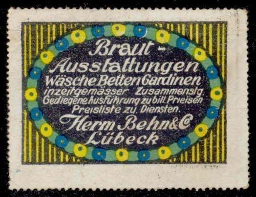 Herm. Behn & Co. Advertising Poster Stamp
