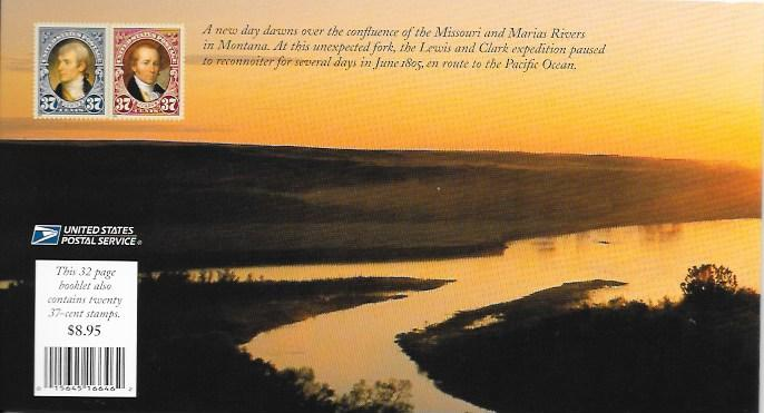 BK297 MNH Lewis & Clark, Complete Booklet, Free Shipping