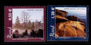 Aland 2006 Landscapes Flower Tree Plant Nature Tourism Coastline Stamps MNH