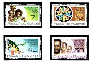 Papua New Guinea 517-20 MNH 1980 National Census