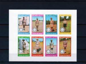 Oman 1980 75th.Ann.Rotary Int./Scouts Shlt(8) Imperf.MNH VF