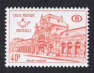 Belgium  Q408   MNH 1968  Railways    40F