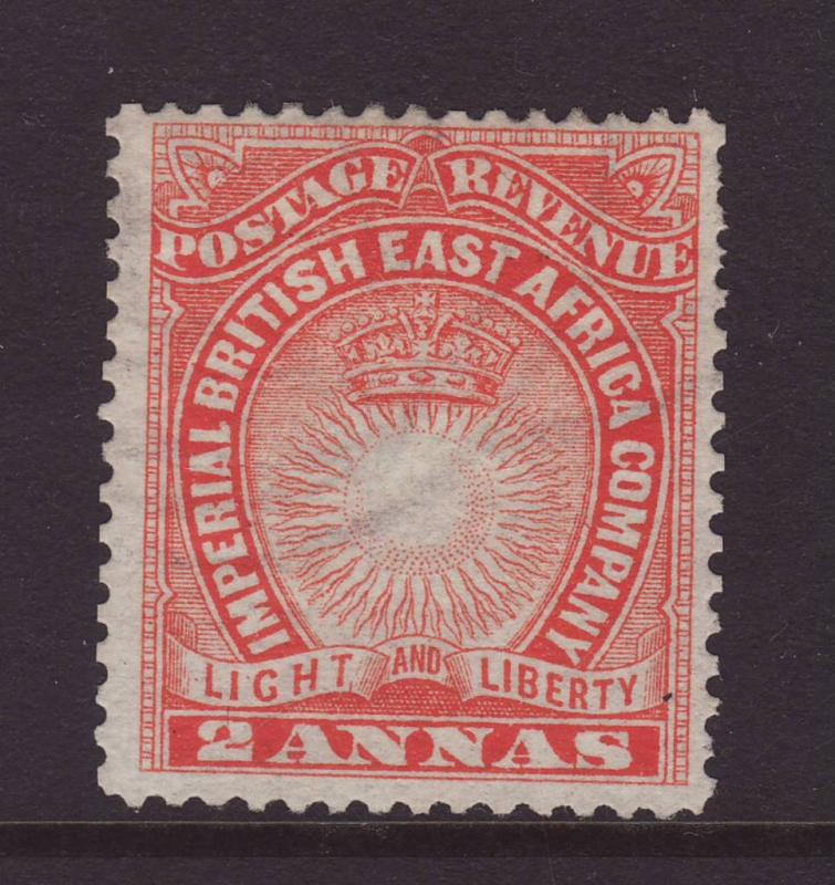 1890 Br East Africa 2 Annas Unused